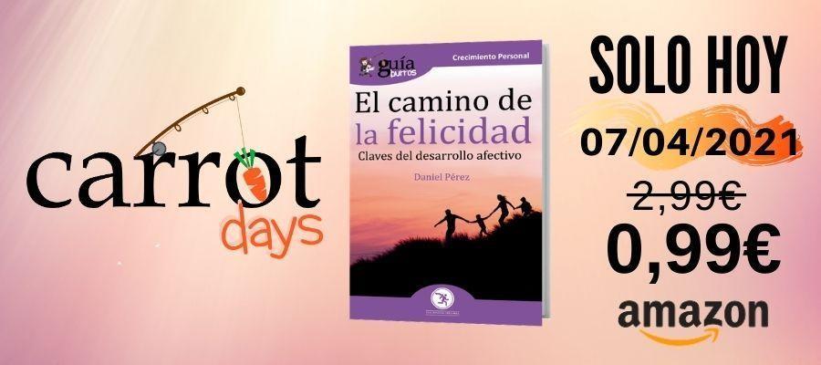 La versión digital del «GuíaBurros: El camino de la felicidad» a 0,99€ en Amazon