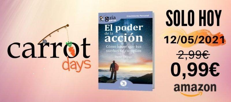 La versión digital del «GuíaBurros: El poder de la acción» a 0,99€ en Amazon