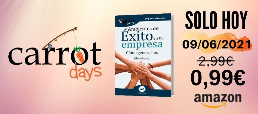 La versión digital del «GuíaBurros: Ambientes de éxito en la empresa» a 0,99€ en Amazon