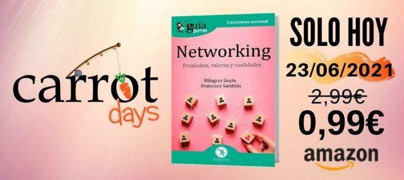 La versión digital del «GuíaBurros: Networking» a 0,99€ en Amazon