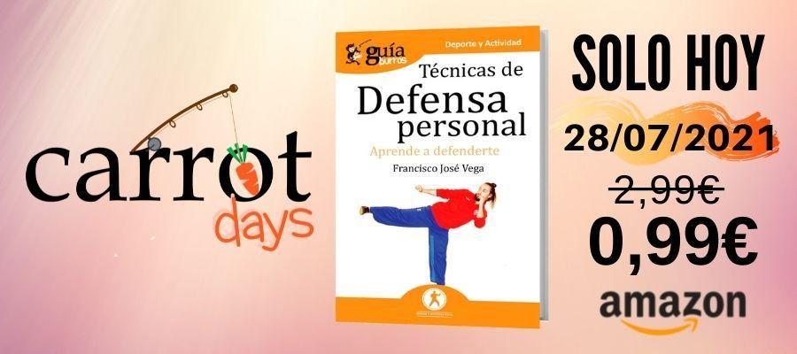 La versión digital del «GuíaBurros: Defensa personal» a 0,99€ en Amazon