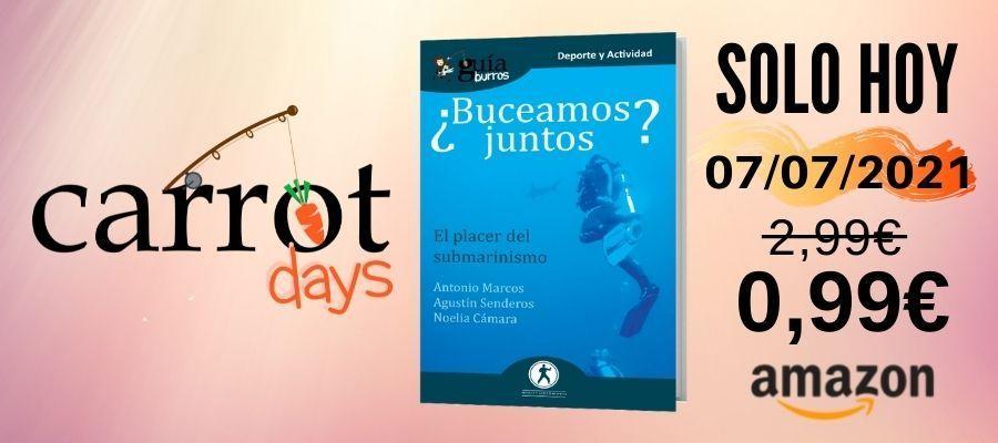 La versión digital del «GuíaBurros: ¿Buceamos juntos?» a 0,99€ en Amazon